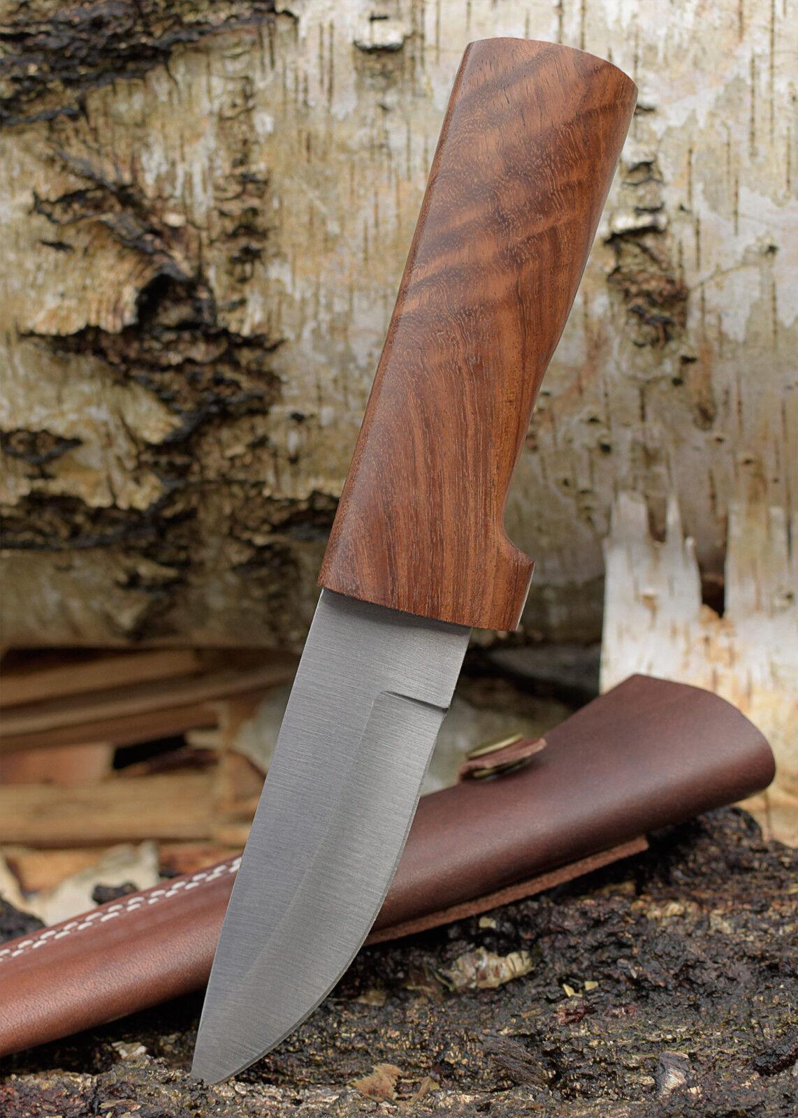 Battle Merchant Fahrtenmesser mit Holzgriff & Scheide 23cm 23cm 23cm Messer Outdoormesser ae58d3