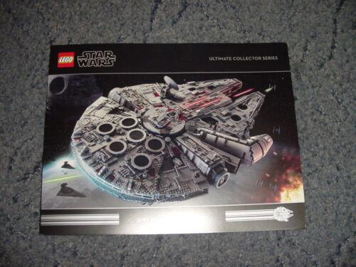 Star Wars Lego 75192 UCS Millennium Falcon A4 tri-fold glossy brochure NEW 2017