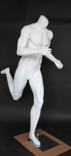 5 ft 7 in H Male Headless Running Mannequin Sport Athletic Mannequin Running-FH