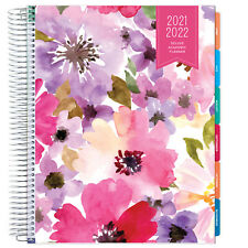 Deluxe 2021 2022 Planner 85x11 Spring Floral