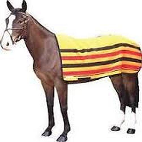 New HorsePony Kingshead Newmarket Spriped Exercise Rugs 100% Wool 4'0