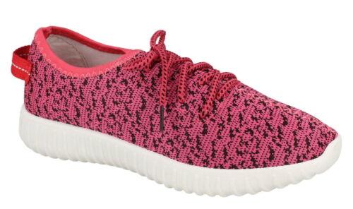 Ladies Spot On Fabric Summer Trainer UK Sizes 3-8 F7055
