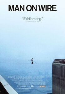 Image Is Loading Poster Man On Wire Movie Dairy Philippe Petit