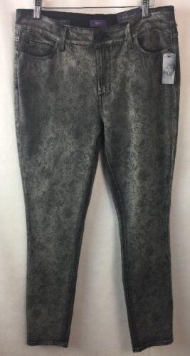 Ikke 10 dine Jeans Nydj døtre Størrelse Leggings Floral Midnight E4 Alina RnqXRxI4f