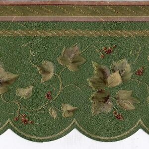 Details About Victorian Ivy Gold Scrolls Wallpaper Border Only 8 Norwall Borders 812