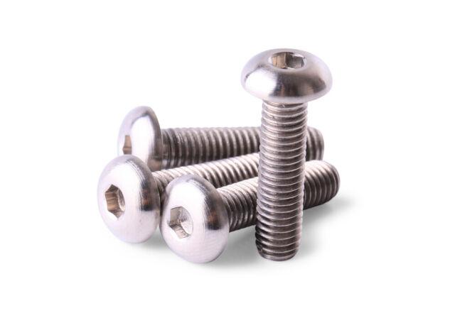 4pcs M5x18 Titanium Ti Screw Bolt Allen Hex Taper Socket Cap Head//AerospaceGrade