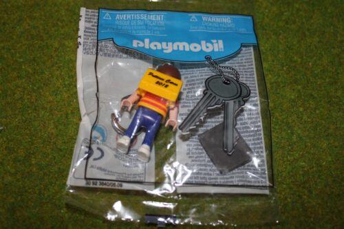 Playmobil Porte clé puttinu Cares garçon 2012 Nouveau personnage publicitaire