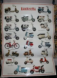 LAMBRETTA-Affiche-Poster-Sigem-Italy