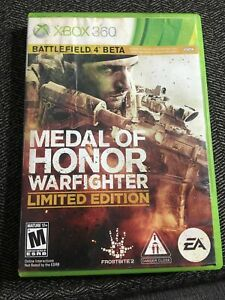 MEDAL OF HONOR WARFIGHTER LIMITED ED - XBOX 360 - NO MANUAL - FREE S/H - (UU)