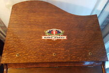 Child's Oak Toy Baby Grand Piano
