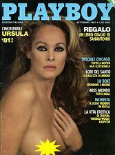 PLAYBOY/ SET/1981* L'INCREDIBILE URSULA 81 ! * LORI DEL SANTO * MISS MONDO NUDA*