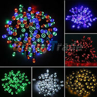100/200 Led Solar Powered Outdoor Tree Fairy String Light For Birthday Party
