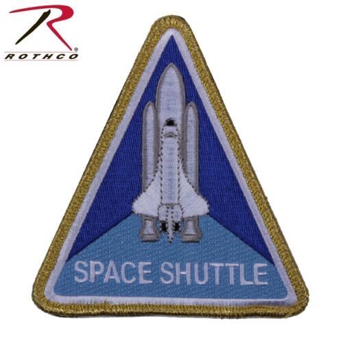 NASA Space Shuttle Morale Patch Traingluar Hook /& Loop Tactical Patch