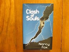 "NANCY  FOX  Signed  Book (""CLASH  OF  SOULS""-2000  Edition   Hardback)"