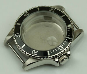 NEW-Stainless-steel-watch-case-polished-generic-submariner-amp-ETA-cases-bezel