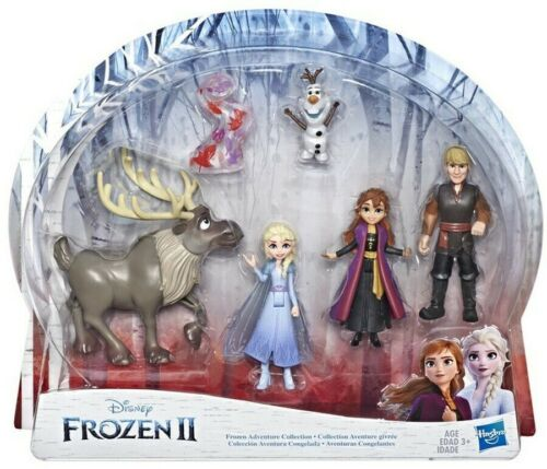 O Elsa Disney Frozen 2 Adventure Collection 5 Small Doll Set Inc Ann kristoff