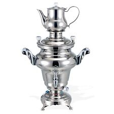 BEEM Rebecca III, Stainless Steel Samovar, 5 Liters, Silver