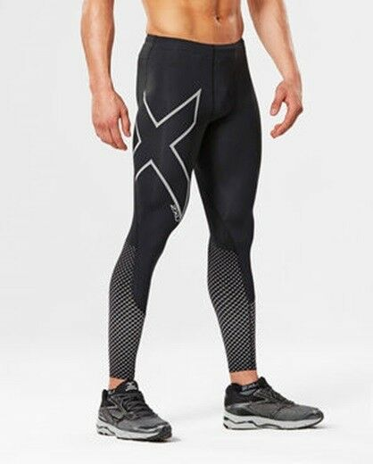 2XU - Mens  Reflect Compression Tight (MA4610b-BLK SRF) Size XS - 50% Off  up to 60% discount