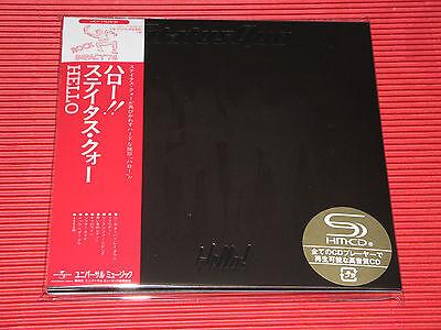 2016 STATUS QUO Hello! JAPAN MINI LP 2 SHM CD DELUXE EDITION