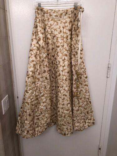 Indian Pakistani Embroidered Beaded Lehenga Skirt
