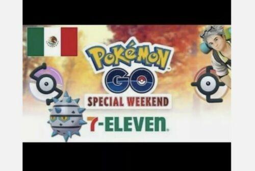 ✨shiny ferroseed pre-order 7 november✨ pokemon go
