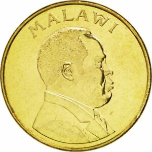 #88387 Malawi 26 Kwacha Brass Plated Steel 8.92 High Quality Goods 63 The Best Km #28 1996 Ms