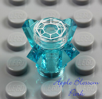 LEGO Hobbit Blue ARKENSTONE - Lord of the Rings Minifig Crystal Stone Tile 79018