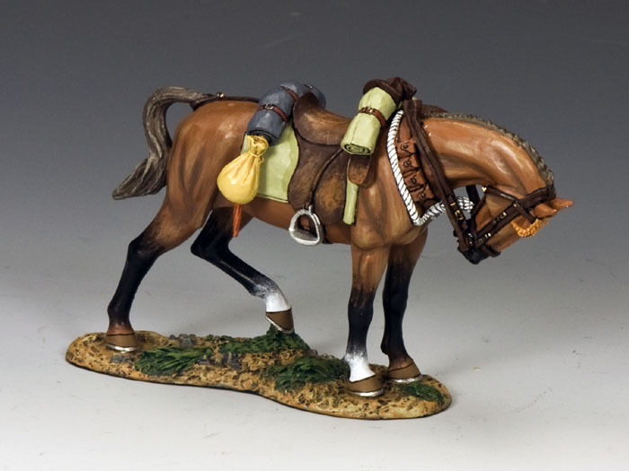 KING AND COUNTRY AUSTRALIAN LIGHT HORSE Standing Horse Horse  2 AL46 AL046