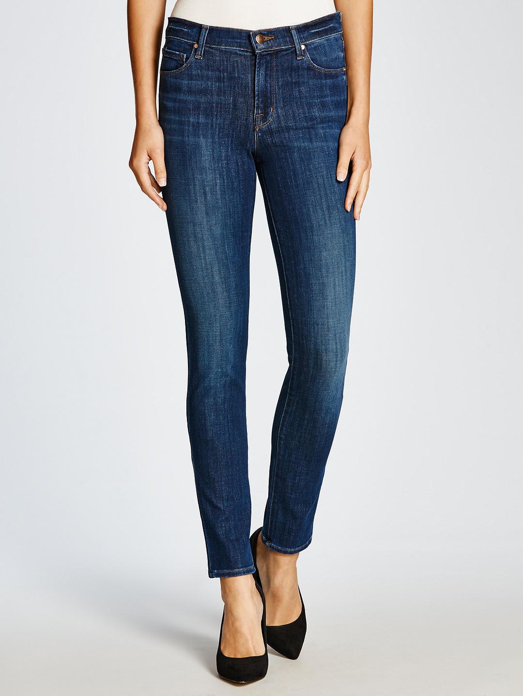 J Brand Maria Mid Rise 811 Size 27 Skinny Leg Indigo