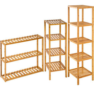 Etagere-debout-salle-de-bain-cuisine-bois-de-bambou-stockage-rangement