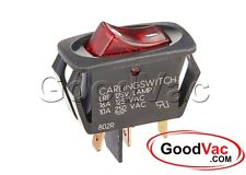 "Genuine Oreck Switch, Kit Lighted with 1/8"" Terminals Type 6/7 75523-03 XL3600HH"