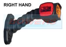 SIM 3174 LED L/H RUBBER STALK 12V/24V RED/WHITE/AMBER OUTLINE MARKER LAMP/LIGHT