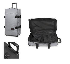 Eastpak-Tranverz-M-sunday-grey-78-l-TSA-Reise-Trolley-Koffer-Tasche-EK62L363
