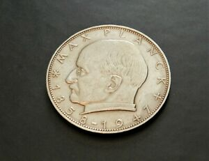 1958-F-Germany-2-Mark-Great-coin-See-Pictures