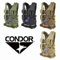 Condor M/l Military Le Cross Draw Tactical Chest Rig Tactical Vest W/ Holster