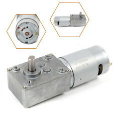 510rpm Electric Gear Motor 24v High Torque Low Speed Worm Reversible Usa