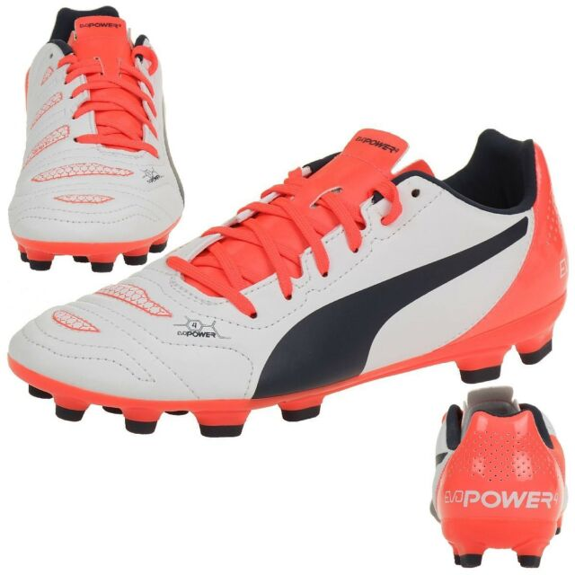 6be999dc1 PUMA evoPOWER 4.2 AG Jr Children s Football Shoes 103230 04 UK 4 for ...