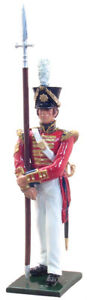 William Britains Redcoats Sergeant 2nd Coldstream Foot Guards 1822 44018