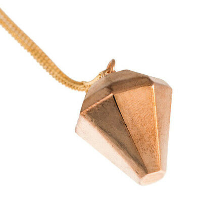 NEW TIMI Jewelry Rose Gold 3D Diamond Pendant Necklace- 65% OFF