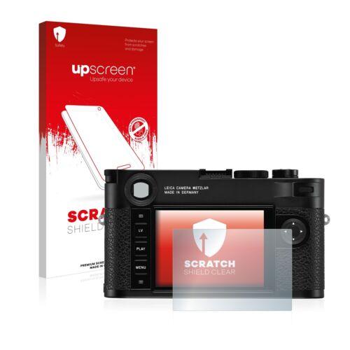 Protector de pantalla Lámina para Leica m10 monocromo resistente a los arañazos antikratz claro