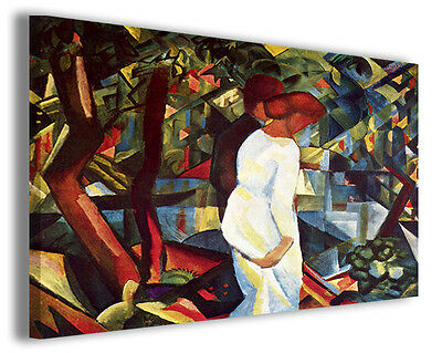 Quadro moderno august macke vol xx stampa su tela canvas pittori