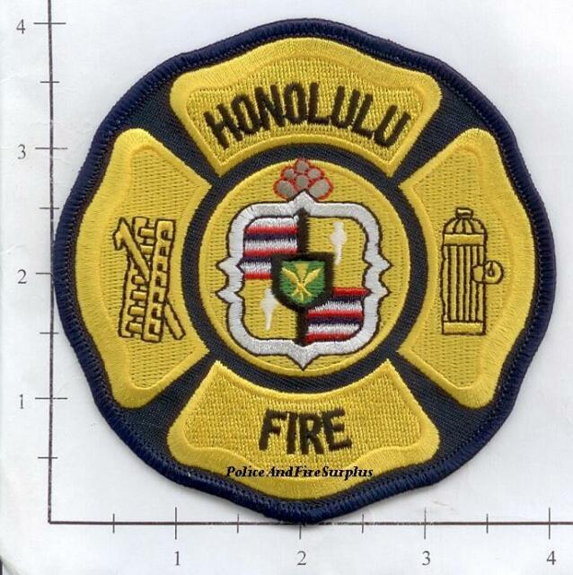 Hawaii - Honolulu Hi Fire Dept Patch