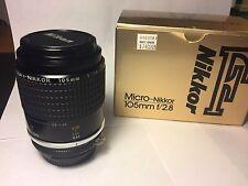 Nikon 105mm f/2.8 Micro-Nikkor AIS
