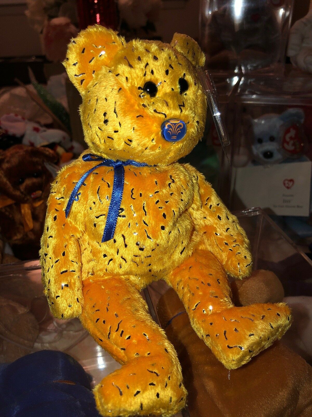 Beanie babies rare retired Promise gold & bluee Also Discover MWMTs ... Set Of 3