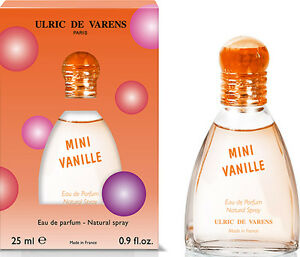 UDV-ULRIC-DE-VARENS-MINI-VANILLE-EAU-DE-PARFUM-EDP-NATURAL-SPRAY-25ml-0-9oz-New