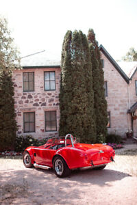 1965 SHELBY COBRA convertible v8 factory 5 NO GST
