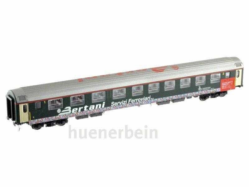 LS Models pirata 97020 Bertani UIC-X personenwg EX SBB 10 appart. verde ep4 NUOVO + OVP