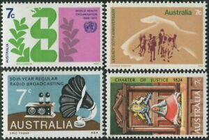 Australia-1973-SG536-Commemoratives-set-MNH