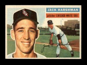1956-Topps-Baseball-29-Jack-Harshman-WB-White-Sox-NM