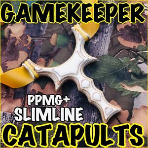 "Courageux * Nouveau * Gamekeeper John ""ppmg + Slimline"" Catapult/slingshot/chasse/tir-afficher Le Titre D'origine Grandes VariéTéS"